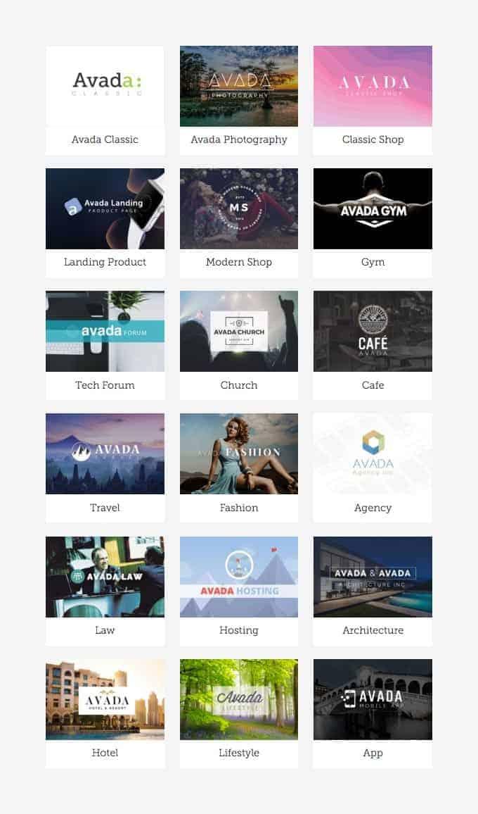 WordPress Design Avada Theme