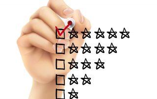 Onlinemarketing Beratung: Onlinebewertungen werden ungenügend genutzt!