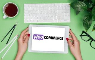 iPad aud dem WooCommerce steht